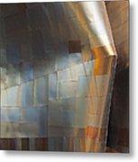 Emp Abstract Fold Metal Print