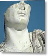Emperor's Bust Metal Print