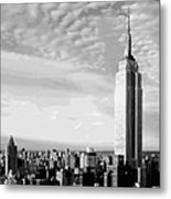 Empire State Building Bw16 Metal Print