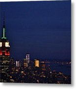 Empire State Building3 Metal Print