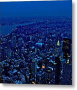 Empire State Of Mind Cold  Metal Print