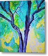 Enbracing Trees Metal Print