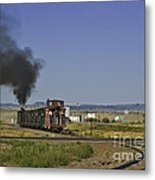 End Of Standard Gauge Metal Print