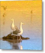End Of The Day Metal Print by Betty LaRue
