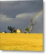 End Of The Rainbow Metal Print by James Steele