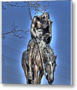 End Of The Trail - From My Point Of View Metal Print