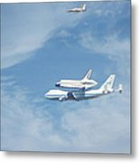 Endeavour's Final Flight Metal Print