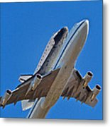 Endeavour's Last Flight Metal Print