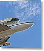 Endeavour's Last Flight IIi Metal Print