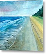 Endless Beach Metal Print