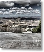 Endless Clouds Metal Print