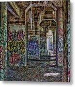 Endless Graffiti Metal Print