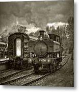 Engine 1638 Metal Print
