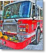 Engine 34 Readied Up Metal Print