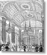 England - Royal Ball 1848 Metal Print