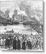 England: Boat Race, 1869 Metal Print