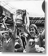 England: Fa Cup, 1977 Metal Print
