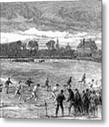 England: Foot Race, 1866 Metal Print
