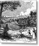England: Manchester, 1842 Metal Print