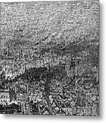 England: Manchester, 1876 Metal Print
