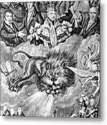 England: Reform, 1830 Metal Print