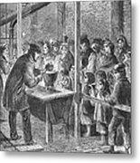 England: Soup Kitchen, 1862 Metal Print