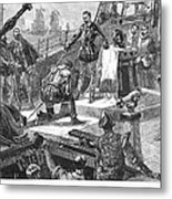 England: Victory, 1588 Metal Print by Granger