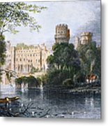 England: Warwick Castle Metal Print