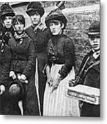 England: Women Strikers Metal Print