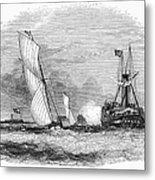 England: Yacht Race, 1843 Metal Print