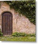 English Door And Ivy Metal Print