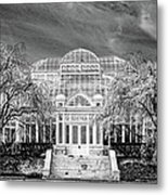 Enid A Haupt Conservatory  Metal Print