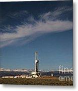 Ensign Drilling Rig 125 Metal Print
