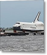Enterprise Cruiseby Metal Print by Rita Tortorelli