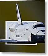 Enterprise Metal Print by Lawrence Ott