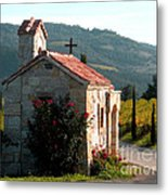 Entrance To Amorosa Metal Print by Gail Salituri