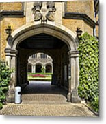 Entrance To Cecilienhof Palace Metal Print