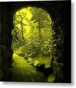 Entrance To Fairyland Metal Print by Maria Scarfone