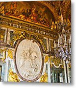 Entryway To The Hall Of Mirrors Metal Print