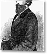 Ephraim Squier (1821-1888) Metal Print