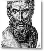 Epicurus (343?-270 B.c.) Metal Print