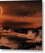Episode In The Night  Metal Print