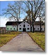 Erdenheim Farm Equestrian Stable Metal Print