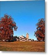 Erdenheim Farm In Autumn Metal Print