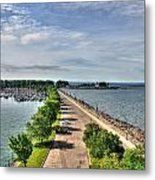 Erie Basin Marina Summer Series 0001 Metal Print