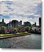 Erie Basin Marina Summer Series 0002 Metal Print