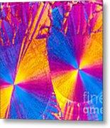 Erythromycin Crystal Metal Print