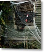 Escaping The Web Metal Print
