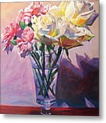 Essence Of Rose Metal Print