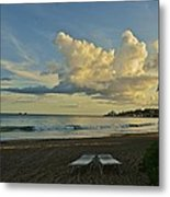 Essence Of Vacation Metal Print
